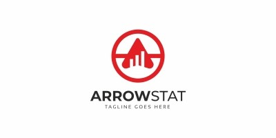 Arrow Statistic Logo