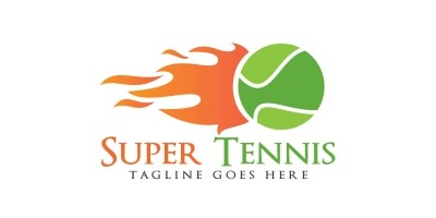 Super Tennis Logo Design