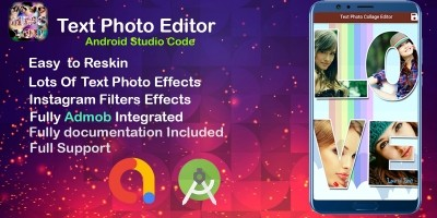 Amazing Text Photo Editor - Android Studio Code