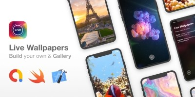 Live Wallpapers - Full iOS App With Build Mode