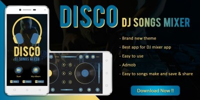 Disco - DJ Songs Mixer Android App Template