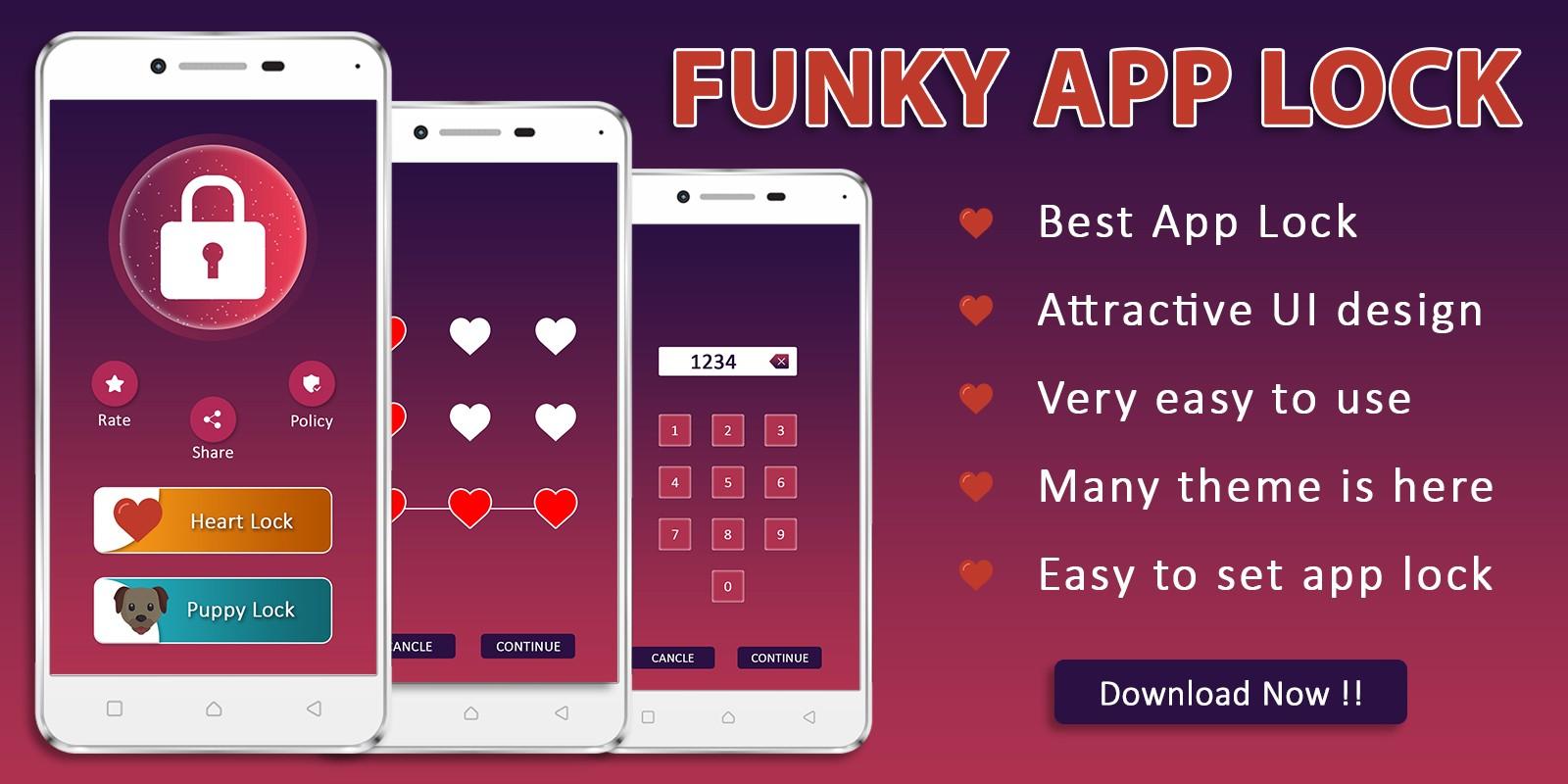 Funky Lock Screen App Source Code