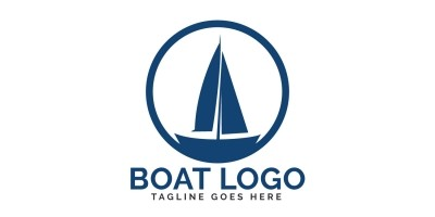 Boat Vector Logo Design