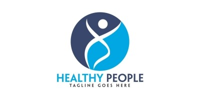 Healthy People Logo Design