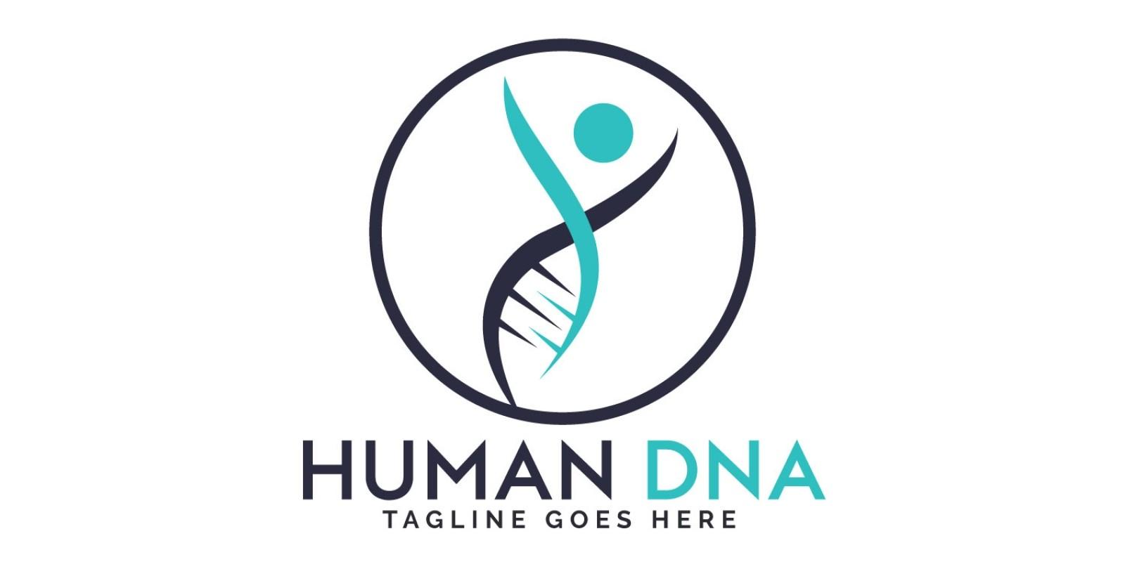 Human DNA Logo Design