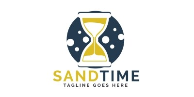Sand Time Logo Design