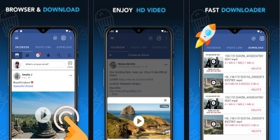 Video Downloader For Facebook Android Template