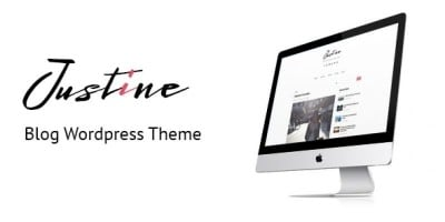 Justine - Responsive WordPress Blog Theme
