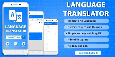 Language Translator Android Source Code