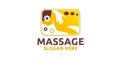Massage Logo Design 3