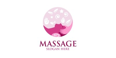 Massage Logo Design 6