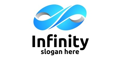 Infinity Loop Logo Design 2