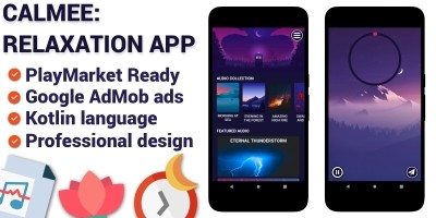 Calmee - Relaxation Android App Template