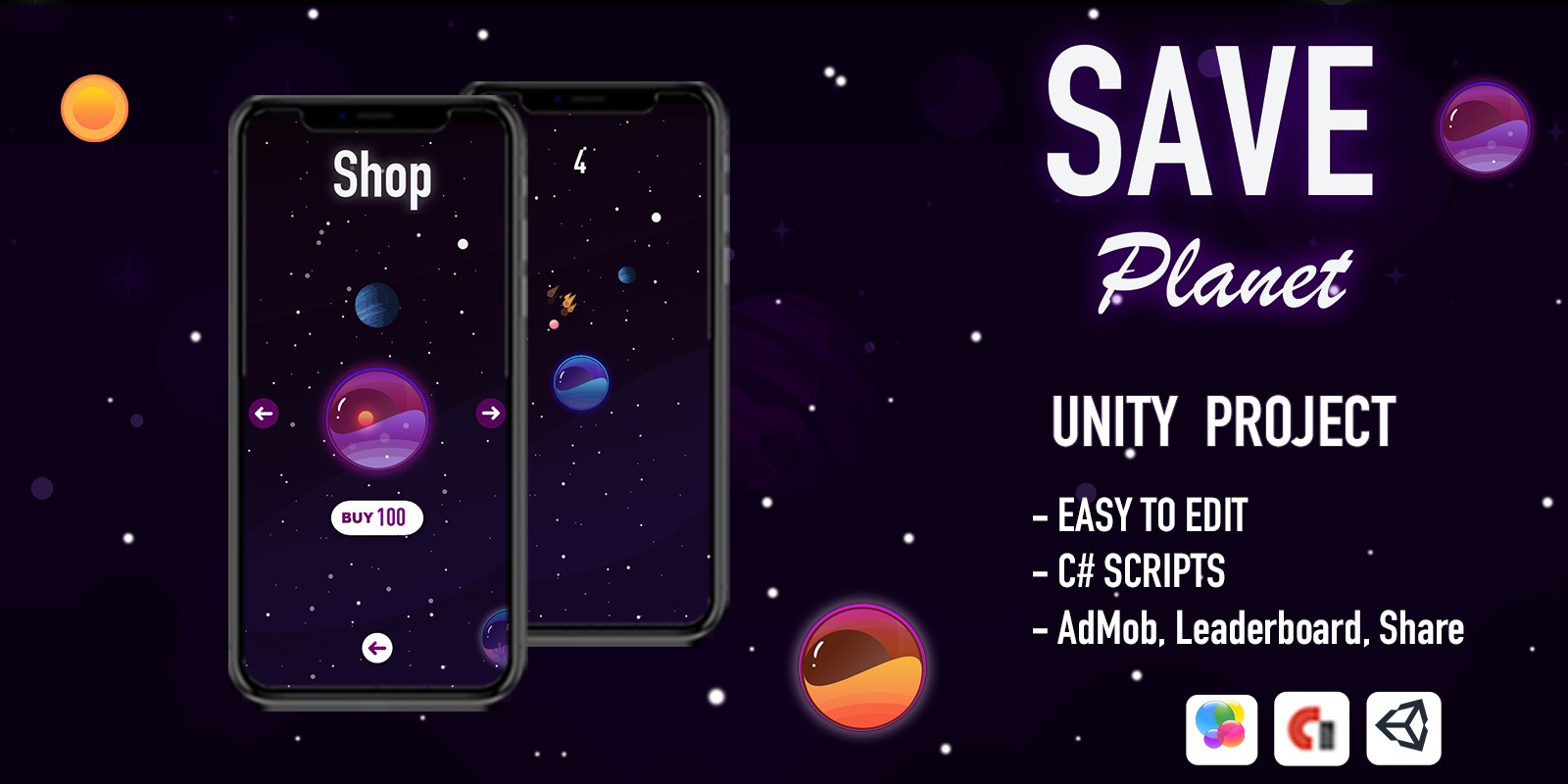 Save Planet - iOS App Template