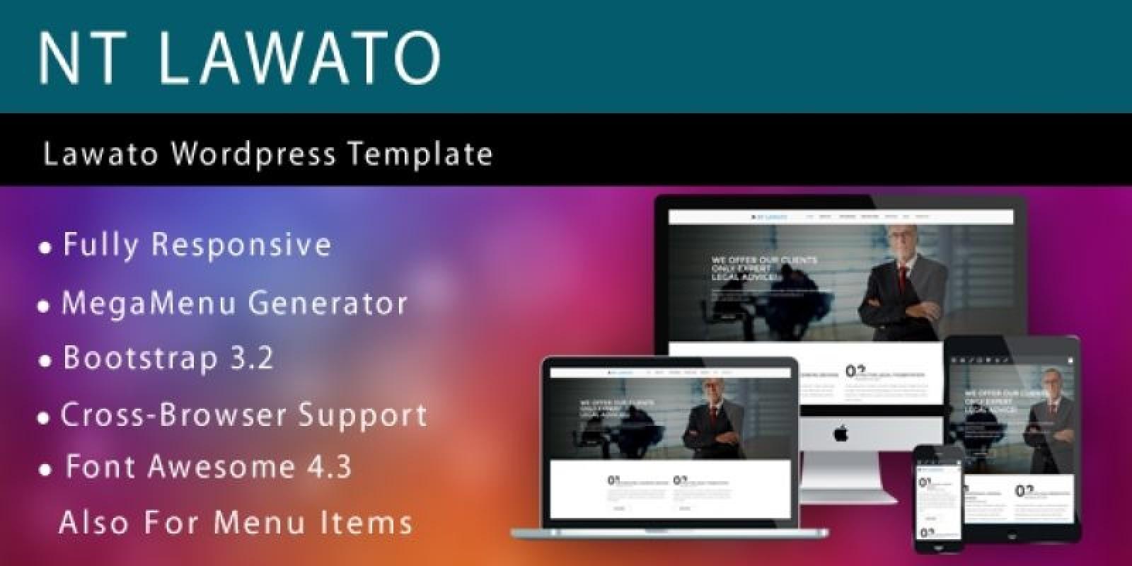 NT Lawato – Wordpress Law Firm Theme