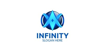 Infinity Loop Logo Design 23