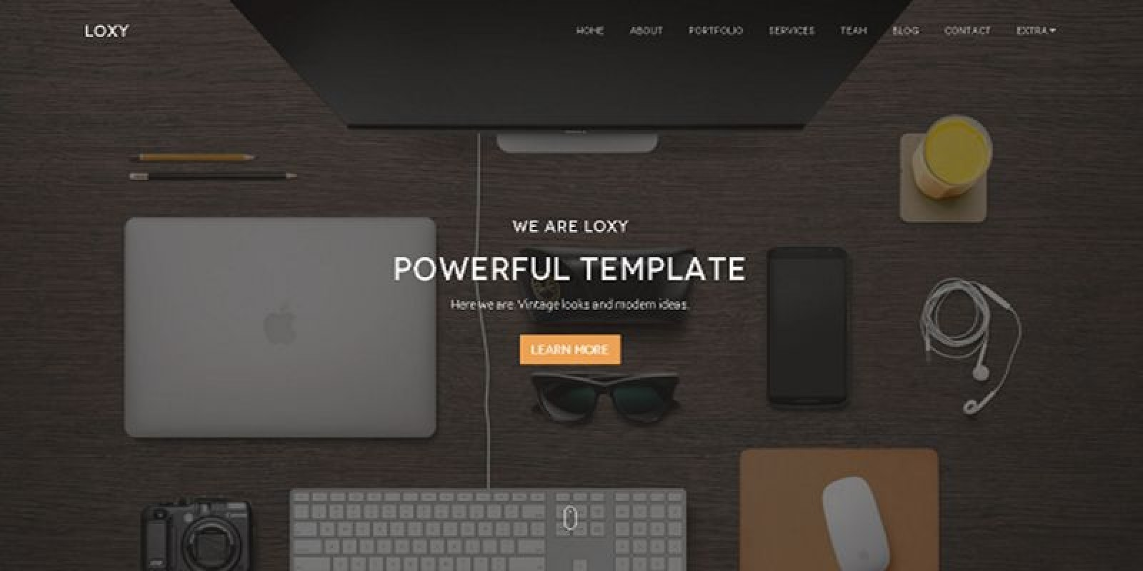 Loxy - Responsive HTML5 Onepage Business Template