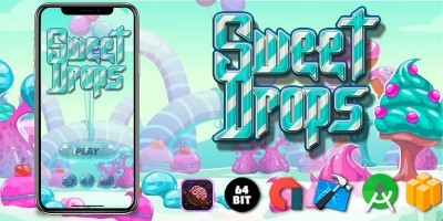 Sweet Drops - Buildbox Template