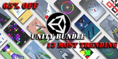 13 Most Trending Unity Games Bundle