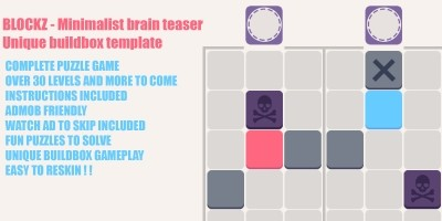 Blockz - A Unique Brain Teaser Buildbox Template