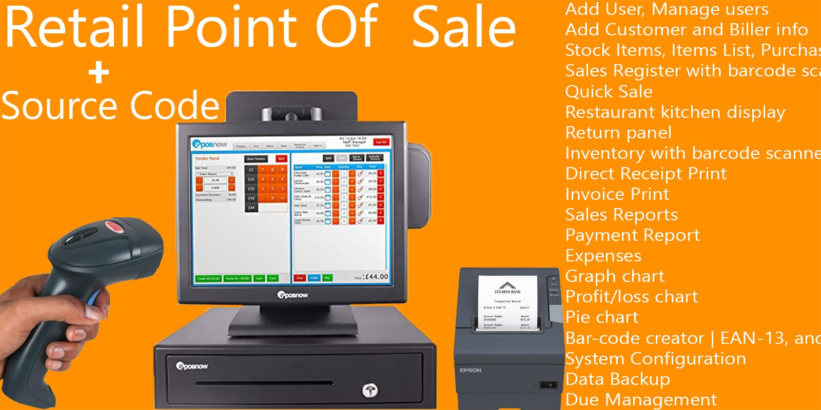 Retail Point of Sale .NET