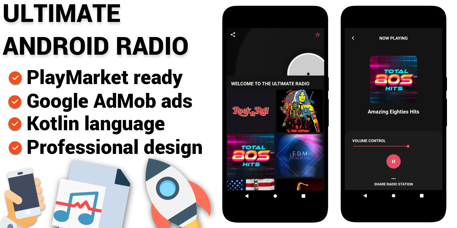 Ultimate Android Radio Android App