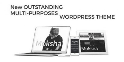 Moksha WordPress Photography Theme