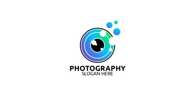 Abstract Camera Photography Logo 31