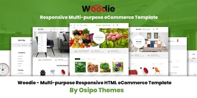 Woodie - Multipurpose eCommerce Template