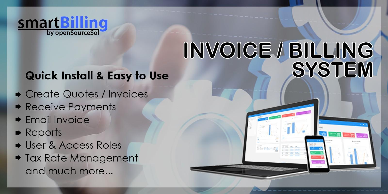 Smart Billing -  Invoicing System