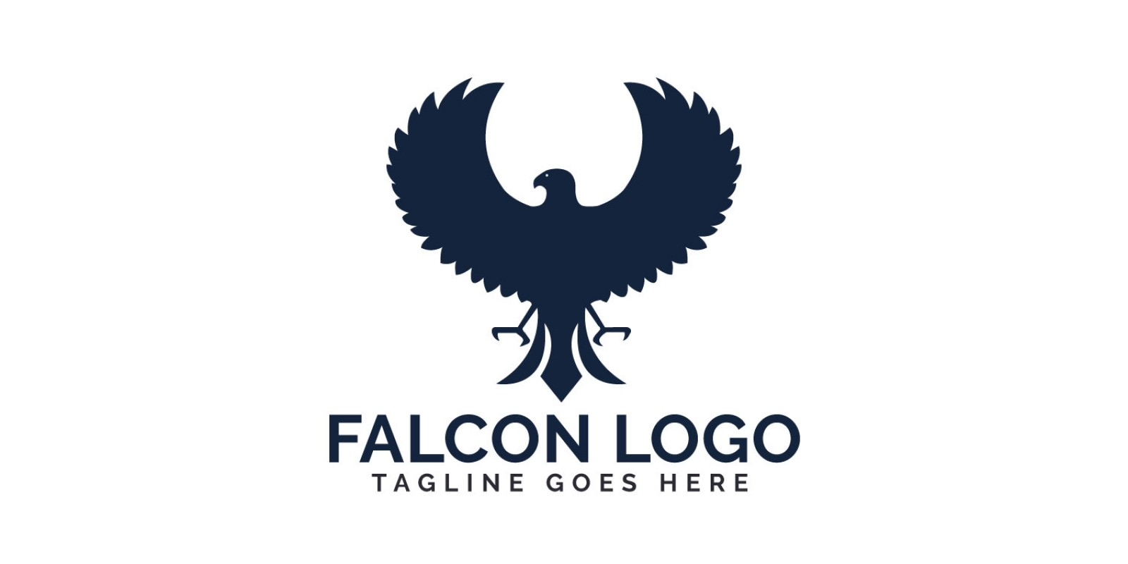 Falcon Vector Logo Design