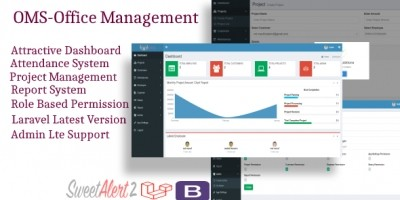 Simple Laravel Office Management System