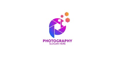 Abstract Camera Photography Logo 57
