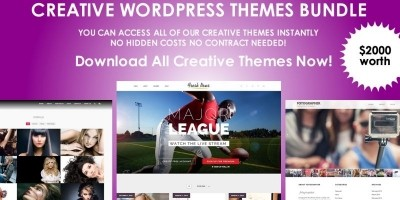 Creative WordPress Themes Bundle
