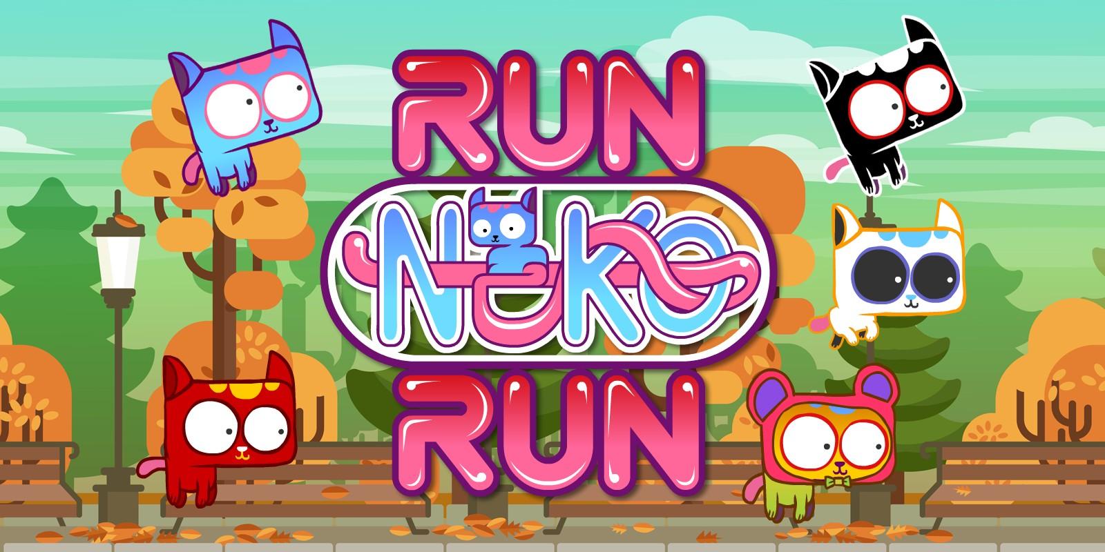 Run Neko Run - Buildbox Template