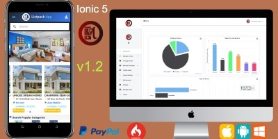Ionic 4 Classified Ads App Template With Backend