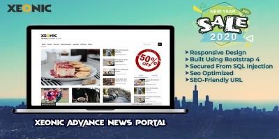 Xeonic - Advance News Portal PHP Script