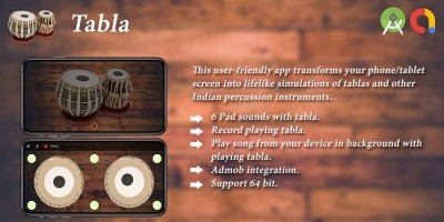 Tabla Android App Template