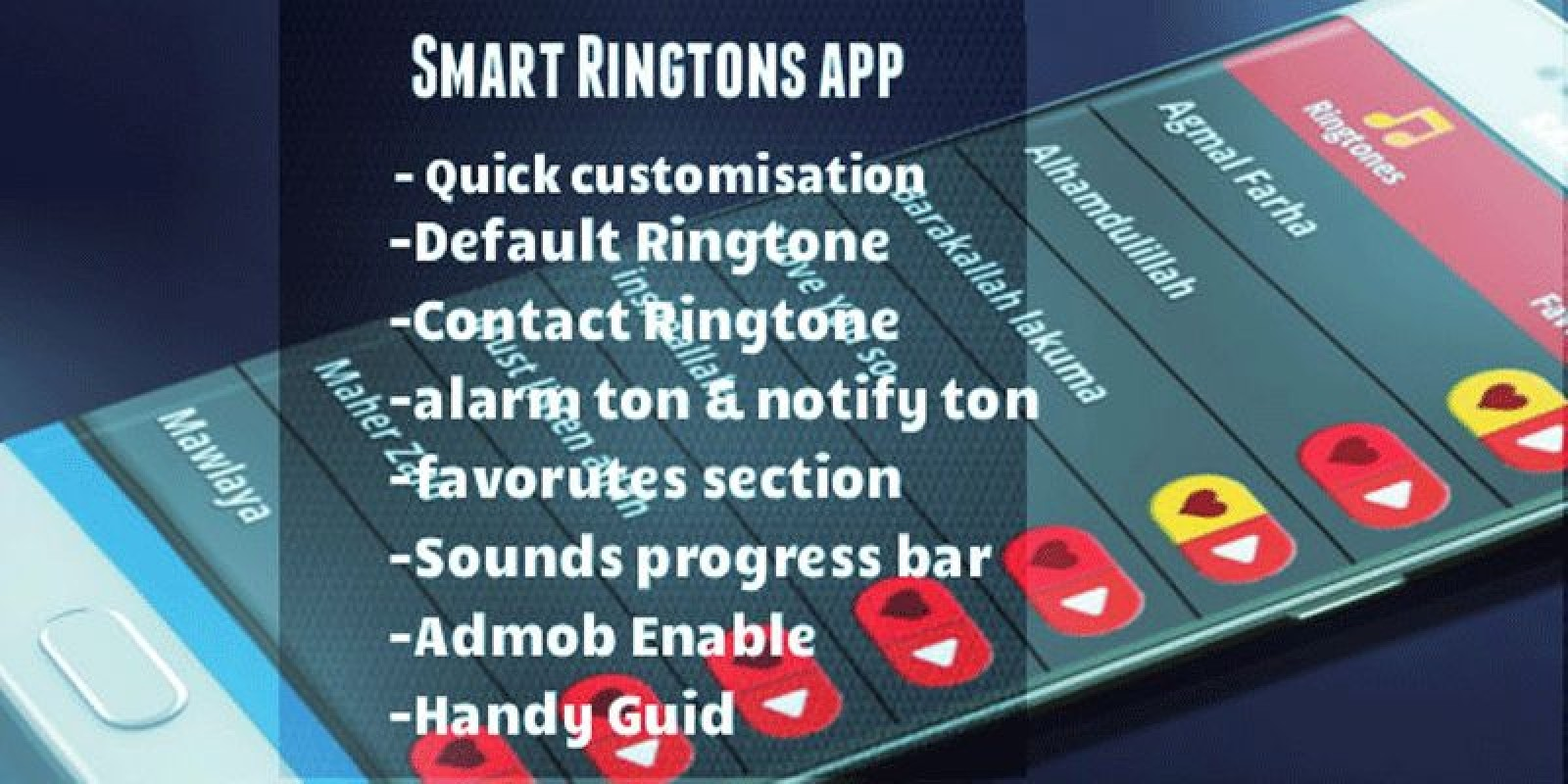Smart Ringtone App Android Source Code Codester