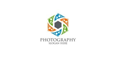 Nature Camera Photography Logo 96
