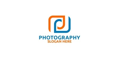 Abstract Camera Photography Logo
