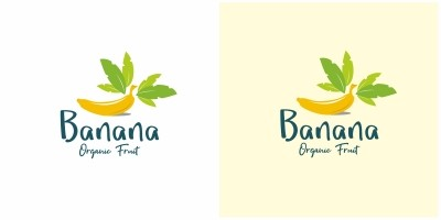 Banana Fruit Logo