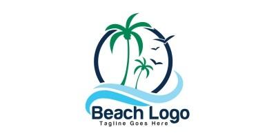 Beach Logo Design