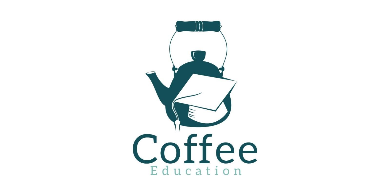 Coffee Education Logo Design