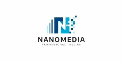 Nanomedia N Letter Logo