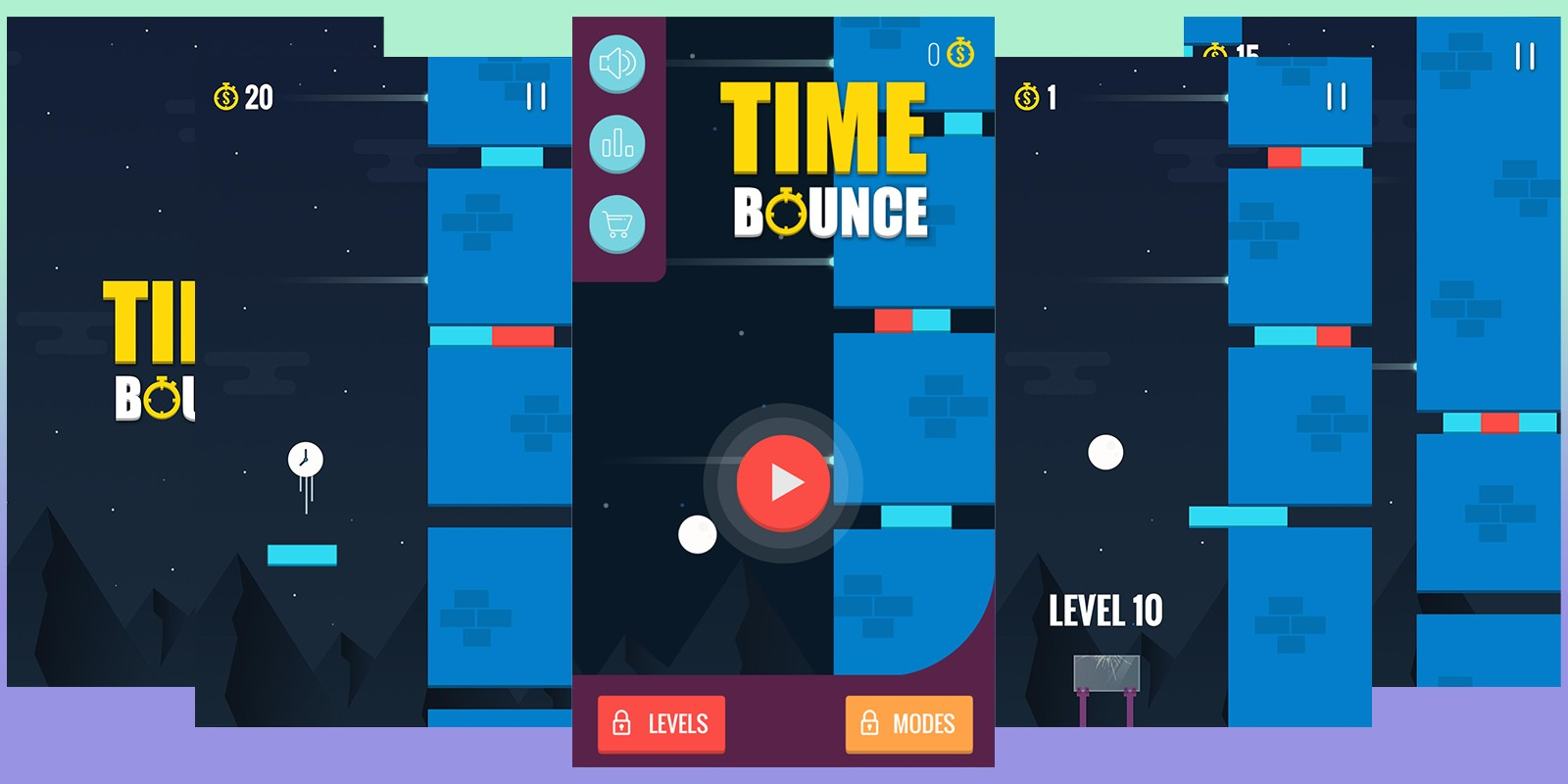 Time Bounce - Buildbox Template