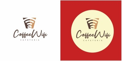 Coffee Wifi Logo