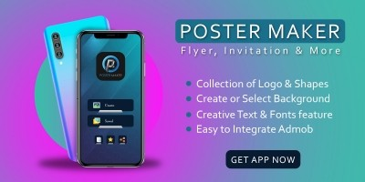 Poster Maker - Android App Template