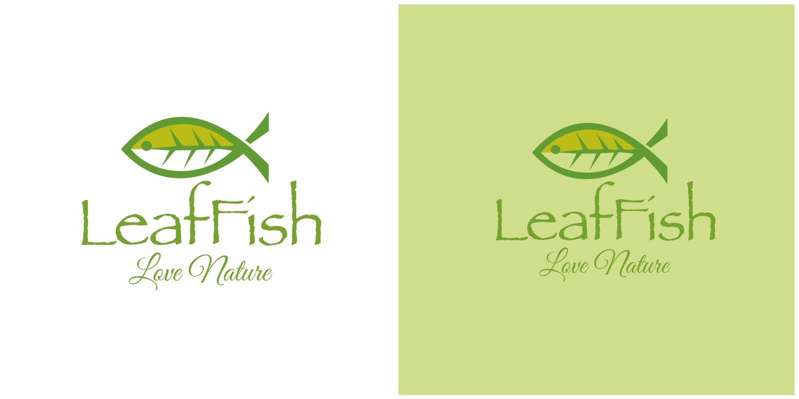 Leaf Fish Logo