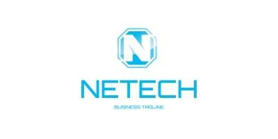 Netech - Modern Letter N Logo Template